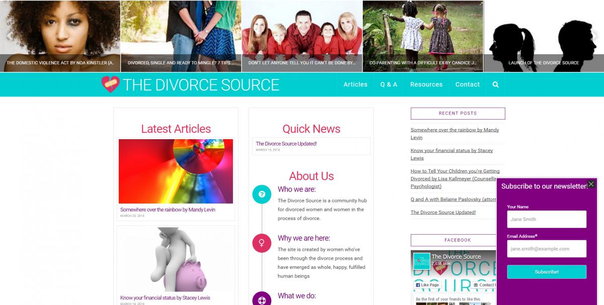 The Divorce Source Screenshot