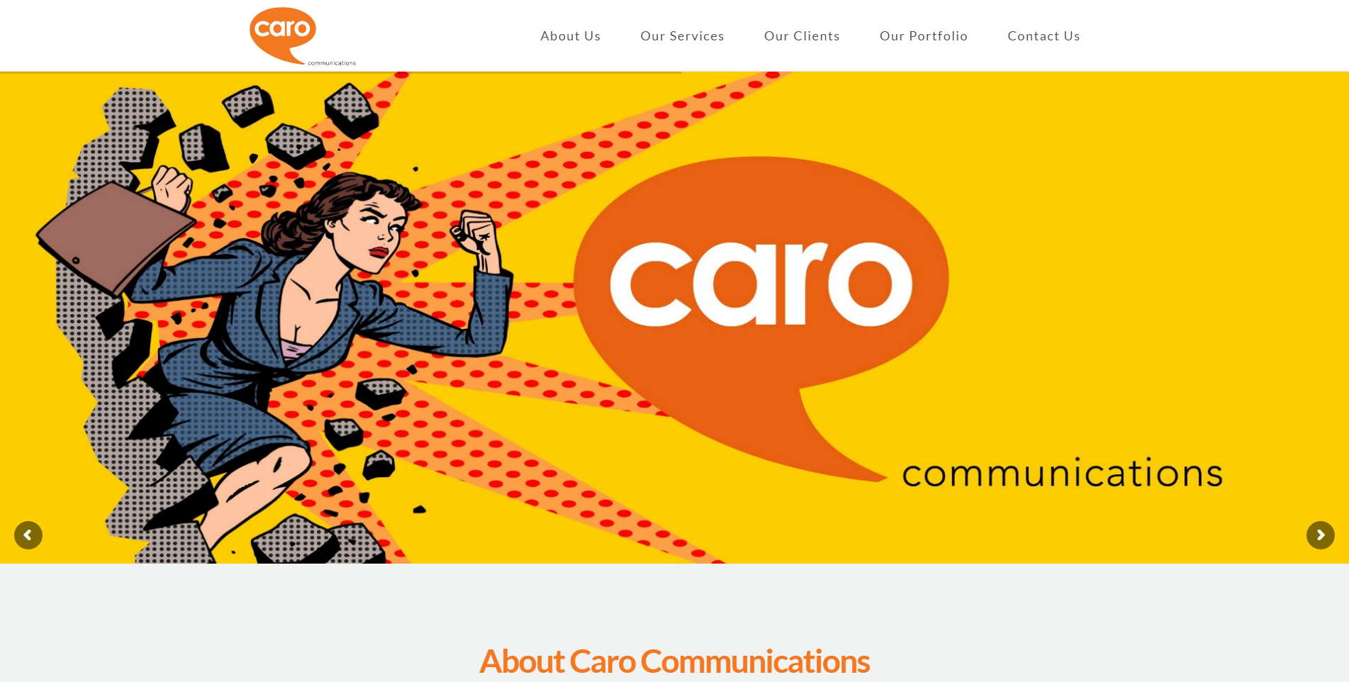 Caro Communications Screenshot
